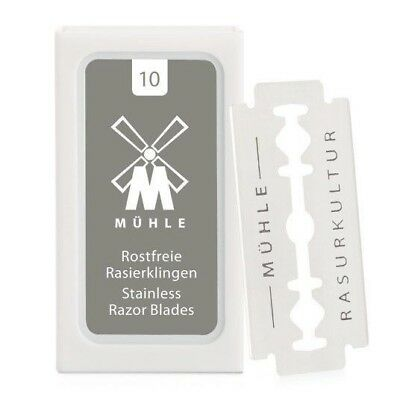 10x Muhle Double Edge Razor Blades Made in Germany