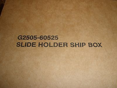 G2505-60525 Slide Holders for Agilent DNA Microarray Scanner CA and BA. New!