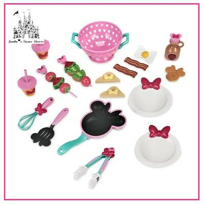 Disney Mickey Mouse Clubhouse Minnie Mouse Brunch Cooking Saucepan Play Set New