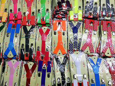 1 pcs CUTE Baby Toddler Kids Children Boys & Girls Y-Back Elastic Suspenders
