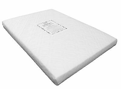 LAURA 95x65cm Baby Travel Cot Mattress 7cm Extra Thick / Fitted Sheet Available