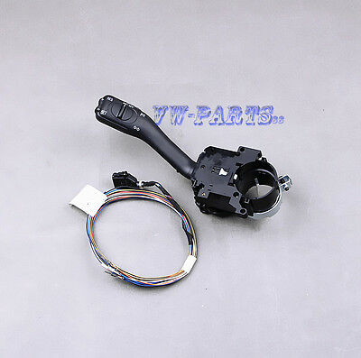 Cruise Control Stalk with Cable Set For VW Golf Jetta MK4 Passat 18G953513A