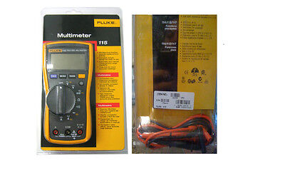 Fluke 115 Digital Multimeter True RMS _Brand New
