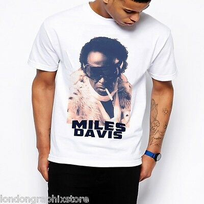 e2978c99 JAZZ PLAYER NAMES T-Shirt Miles DAVIS PARKER COLTRANE Retro Ringspun ...
