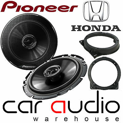 "Honda CIVIC 2006 ON 17 CM 6.5"" PIONEER 480 W Front Door Car Speakers & Brackets"