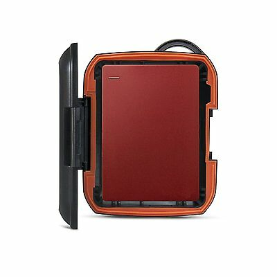 Shockproof Nomad Rugged Case Bag For Seagate Backup Plus Slim 2TB Hard Drive USB