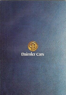 Daimler Sovereign & Double Six Saloon Series 2 1978-79 UK Market Sales Brochure