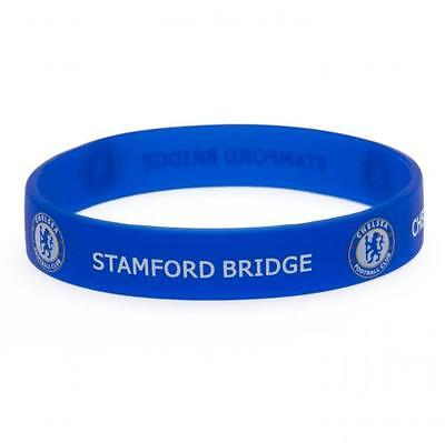 *OFFICIAL*  Chelsea F.C.  Rubber WRISTBANDS (Silicone) One Size Fits All