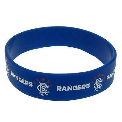 *OFFICIAL* Rangers F.C.  Rubber WRISTBANDS (Silicone) One Size Fits All