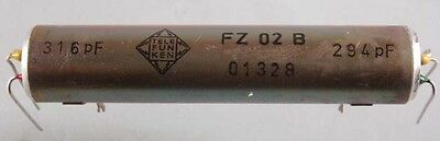 Mechanisches Filter Telefunken 630m 472 - 479 khz Mechanical filters