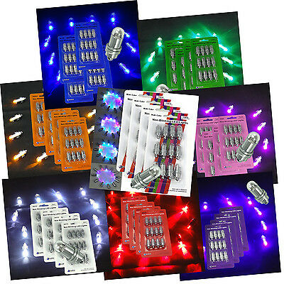 48 SUBMERSIBLE LED Waterproof Balloon Floral Mini Light Wedding Party Multicolor