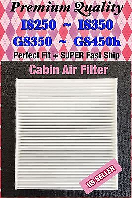 CARBONIZED Cabin Air Filter for New LEXUS IS250 GS350 REPLACEMENT 87139-30100