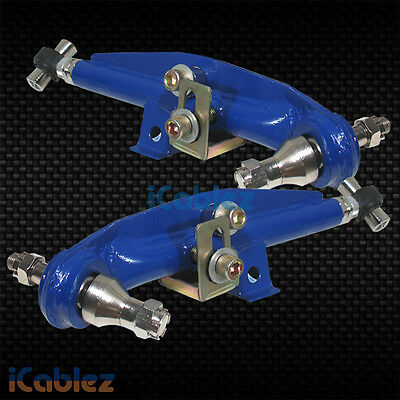 FRONT LOWER CONTROL ADJUSTABLE ARM BLUE FOR 89-98  240SX 300ZX S13 S14 KIT