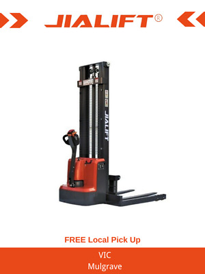 Brand New 1.5T Straddle Leg Semi-Electric Walkie Stacker/Lifter Lifting 3000mm