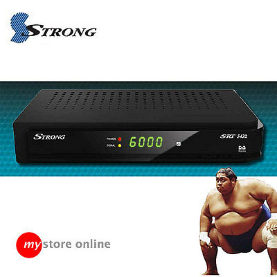 Receive ALL NEW UHF TV CHANNELS: STRONG SRT5432 Digital HD Receiver Set Top Box