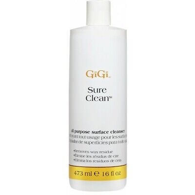 GiGi Sure Clean All Purpose Surface Cleanser Cleaner Removes Wax Residue 473ml