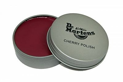 DR MARTENS CHERRY BOOT or SHOE POLISH - FREE UK P&P!