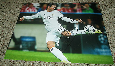 Gareth Bale Signed 11x14 Real Madrid Photo with proof