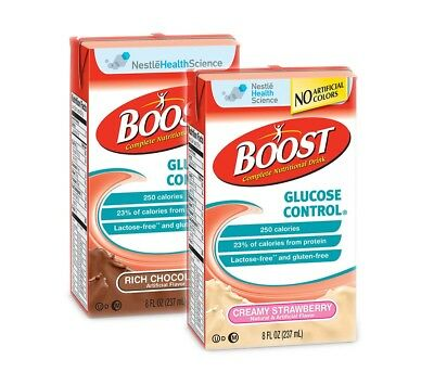 Boost Glucose Control Oral Supplement Nutritional 8.oz One Case of 27