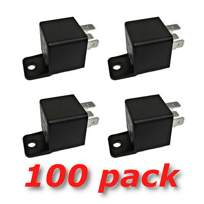 12V 30 40A SPDT Bosch Style Automotive Relays (100/Pack) 12 Volt