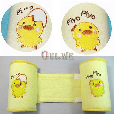 Baby Toddler Yellow Chicks Safe Cotton Anti Roll Pillow Sleep Head Shape Pillow