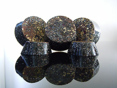 4 Große 23K GOLD Orgon Shungite Quartz Tb's Towerbusters Strahlung Erdung