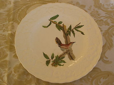 Luncheon Plate  #18 BEWICK'S WREN  made by Alfred Meakin of England