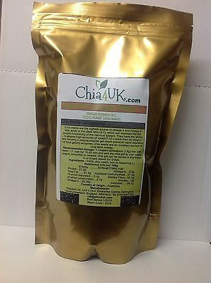 Chia4Uk Raw Natural Chia Seeds Weightloss Detox Cleanse Best Prices & Quality ;)