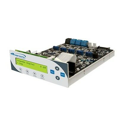 $0 P&H) VinPower Tower DVD/CD SATA Duplicator Controller 1 to 7 with Copy Prot.
