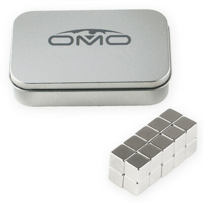 50pcs 10 x 10 x 10mm Cube Block N50 Silver Strong Rare Earth Neodymium Magnets