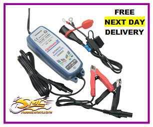 OptiMate 2 Motorcycle 12V Vehicle ATV Battery Maintainer Optimiser Charger
