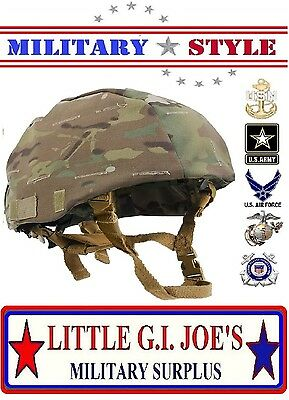 Multicam Camouflage MICH Helmet Tactical Military Style Helmet Cover Rothco 9629