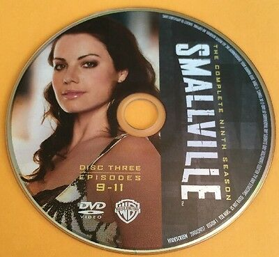 Smallville Season 9 Disc 3 Replacement DVD