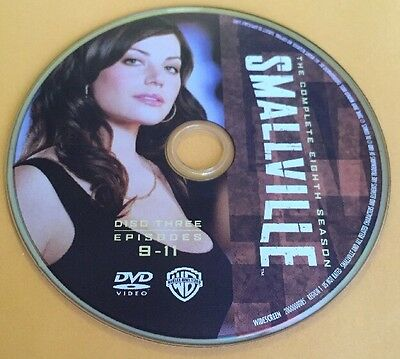 Smallville Season 8 Disc 3 Replacement DVD