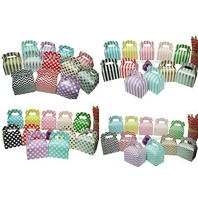 New 12 x Gable Boxes Wedding Party Favour Gift Lolly Box Bomboniere