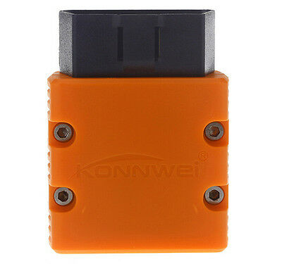 Mini ELM327 Bluetooth WiFi KW902 OBD2 OBDII Car Auto Diagnostic Scan Tool Orange