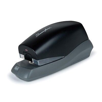 Swingline 42132 Breeze Electric Stapler, 20 Sheet Capacity, Half-Strip, Black