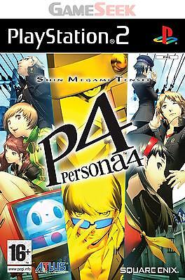 Persona 4 - Playstation Ps2 Brand New Free Delivery