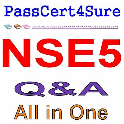 Fortinet Network Security Expert 5 Written 500 NSE5 Exam Q&A PDF+SIM