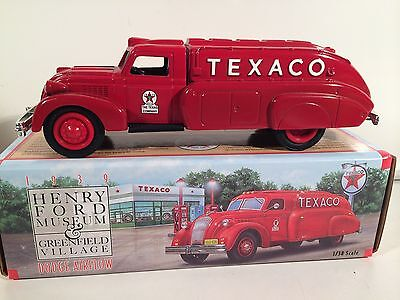 1939 Dodge Airflow Texaco Tanker Ertl Henery Ford Museum Truck Dicast Bank 1:38