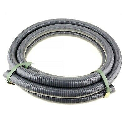 """5m x 1"""" 25mm ID Suction Hose for Transfer High Pressure Fire Fighting Water Pump"""