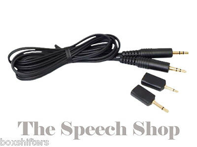 Olympus KA-333 Stereo Jack to Jack 3.5mm Connection Cable for Data Transfer