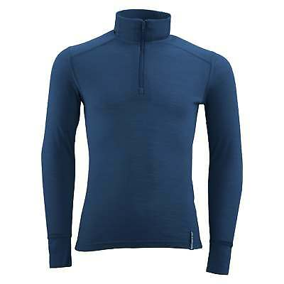 Kathmandu merinoBASE Children Kids Long Sleeve Thermal Underwear Top Blue
