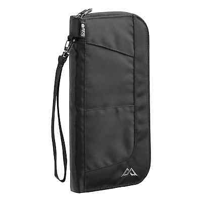 Kathmandu Departure Travel Wallet v4 Documents ID Holder Security Bag L Black