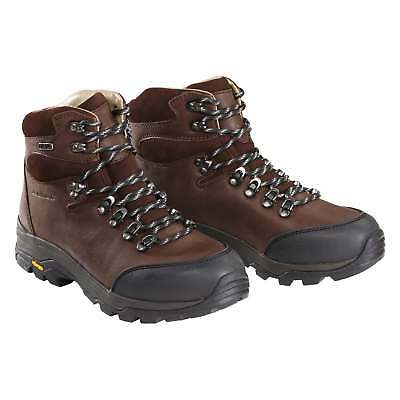 Kathmandu Tiber Mens NGX Waterproof Leather Hiking Walking Boots Shoes Brown