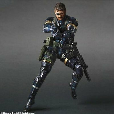 *NEW* Metal Gear Solid V Ground Zero Solid Snake Play Arts Kai Action Figure