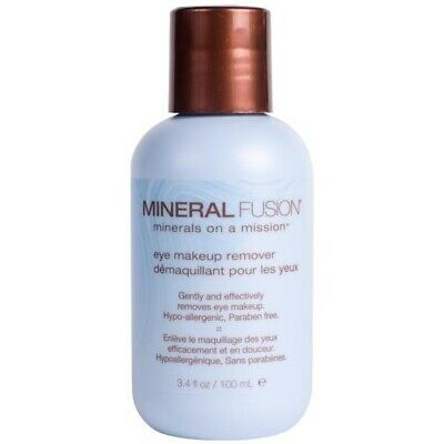 Eye Makeup Remover Mineral Fusion 3.4 oz Liquid