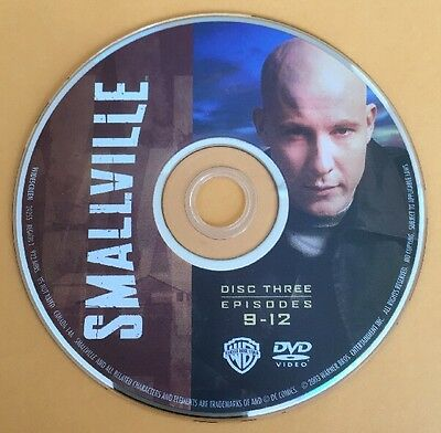 Smallville Season 1 Disc 3 Replacement DVD