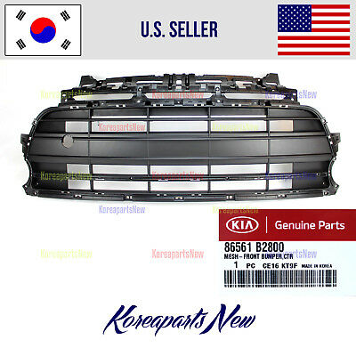 Front Bumper Grille Grill Skid Plate 86565B2800 KIA SOUL TURBO ONLY 2017-2018