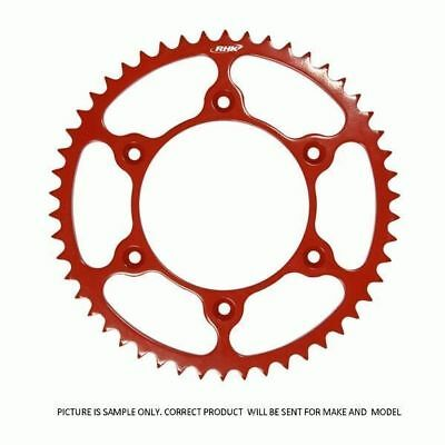 Honda CRF250R 2004 - 2017 46T RHK Red Rear Steel Sprocket MX parts
